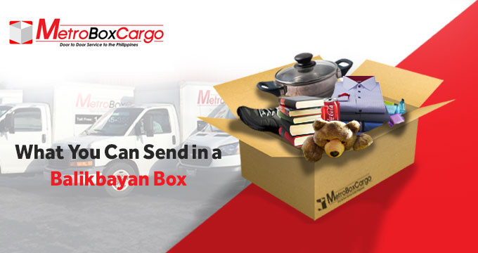 What You Can Send in a Balikbayan Box, Part 1