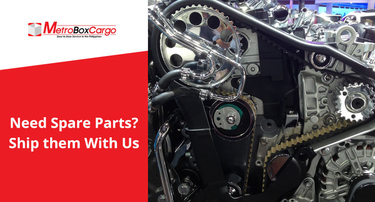 Need Spare Parts? Ship Them with Us